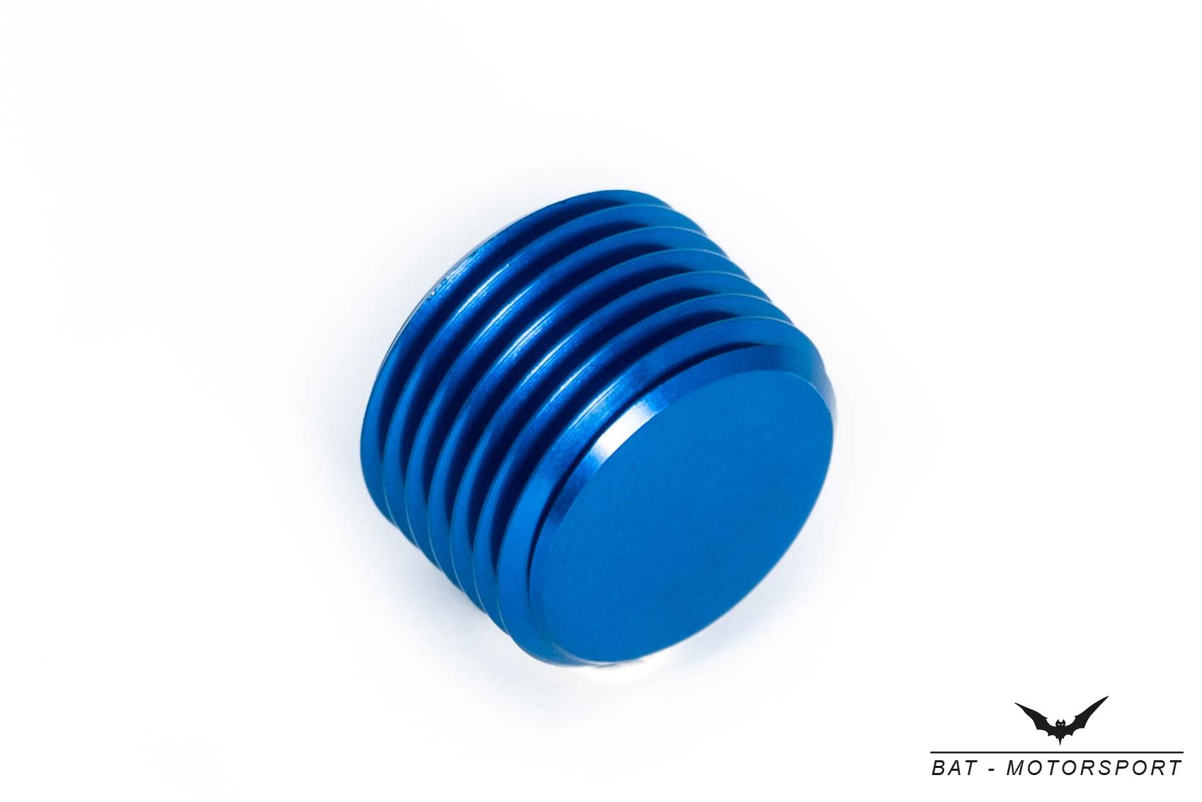 Gewindeverschluss M18x1,5 Blau
