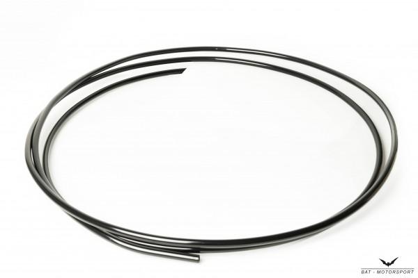 Alu-Rohrleitung 9,5mm 1m schwarz