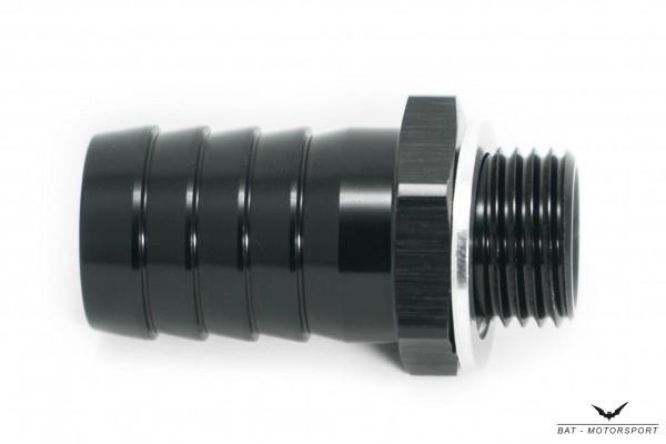 Schlauchanschluss 19mm M16x1,5 schwarz