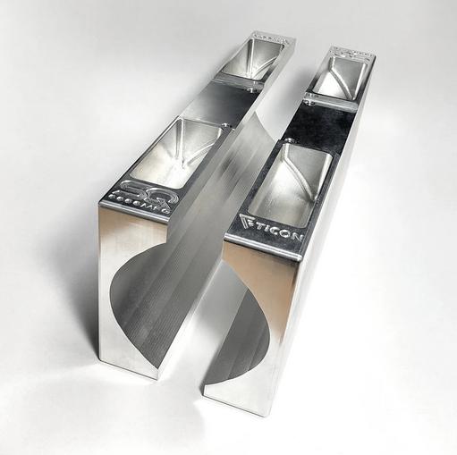 TICON - Schneidhalterung für gerade Rohre 63mm/76mm/89mm
