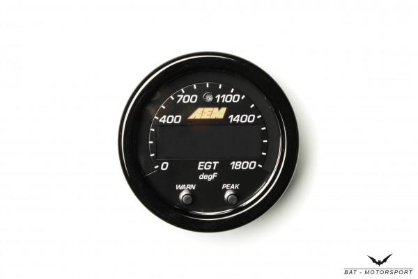 AEM X-Series Abgastemperatur (EGT) Anzeige 30-0305