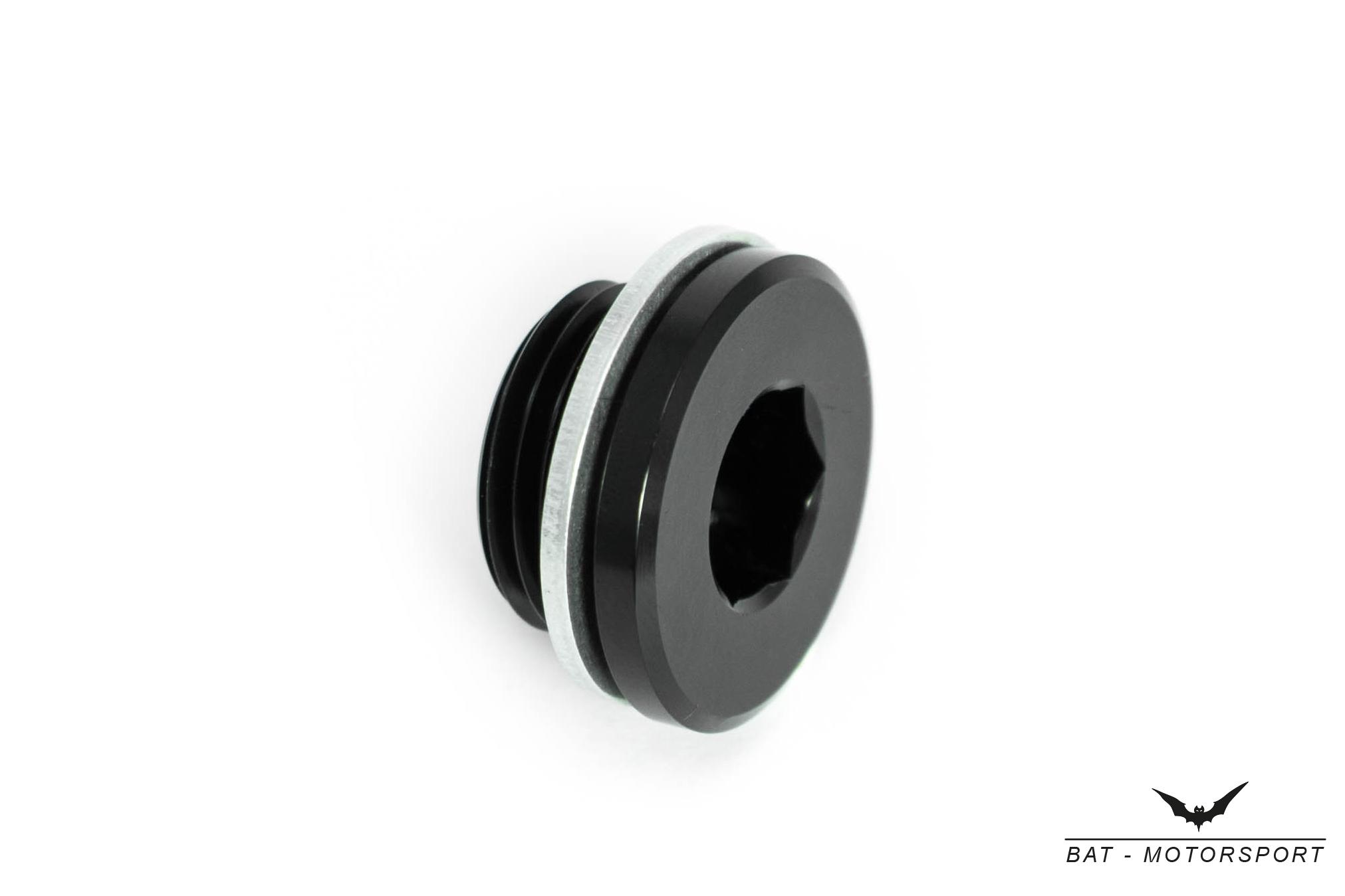 Gewindeverschluss M16x1,5 Schwarz