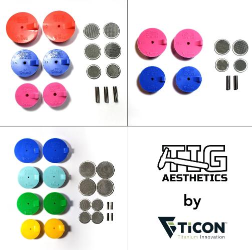 Tig Aesthetics Silikon Formier Verschlüsse - Komplett Kit für Auspuff, Krümmer und Ansaugung