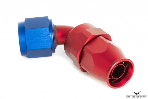 PTFE Alu-Fitting Dash 08 60°