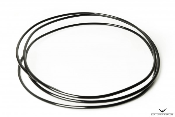 Alu-Rohrleitung 8mm 1m schwarz