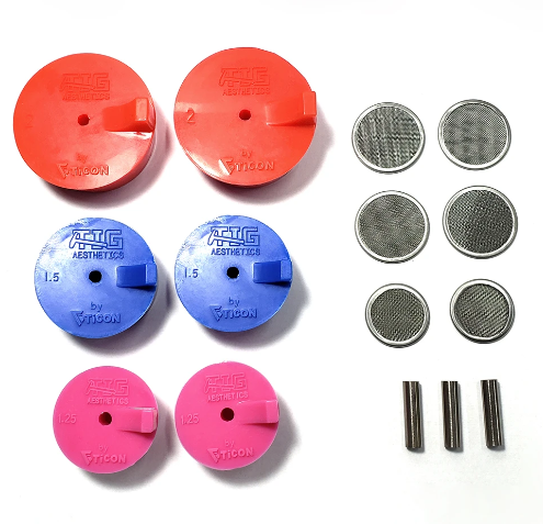 Tig Aesthetics Silikon Formier Verschlüsse - Ansaug Kit (32/38/51mm)
